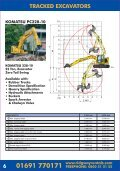 Ridgway Rentals Plant Machinery Guide May 17 - Page 6