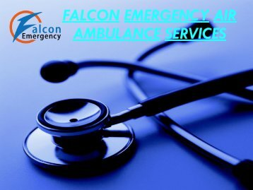 Quick Medical Air Ambulance Service in Gorakhpur and Gwalior