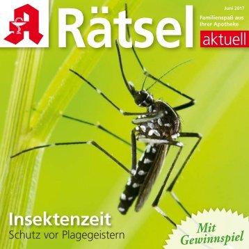 "Leseprobe ""Rätsel-aktuell"" Juni 2017"