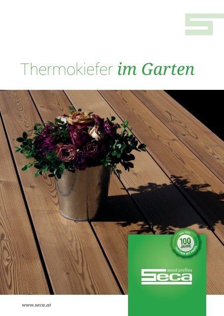 SECA Thermokiefer im Garten