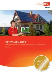 IBC_PV Manager_NL