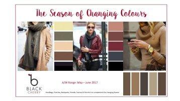 Black Cherry Catalogue - Autumn Range 2017