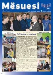 Kohë fushate….mësimore - Ministria e Arsimit dhe Shkencës