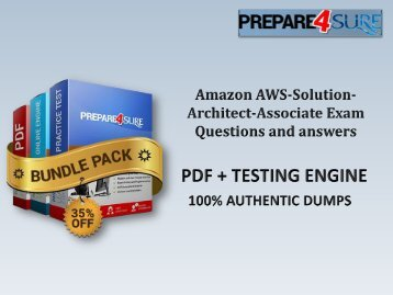 AWS-Solution-Architect-Associate Practice Exam Questions - Real Amazon AWS-Solution-Architect-Associate Dumps