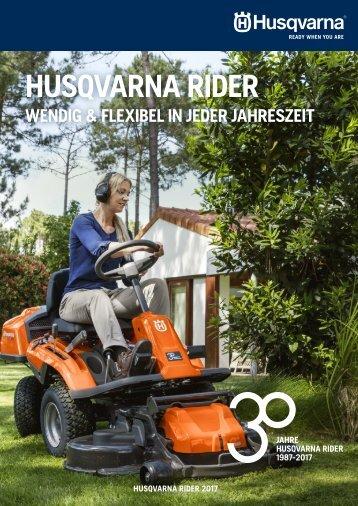 Rider Broschüre 2017