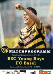 BSC Young Boys FC Basel