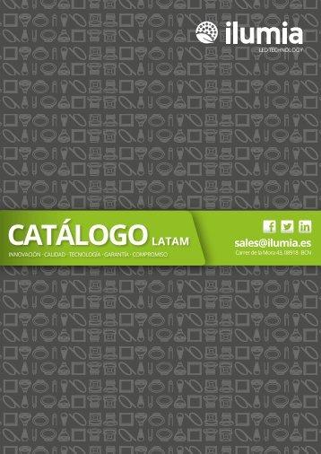 CATÁLOGO ILUMIA LATINOAMÉRICA