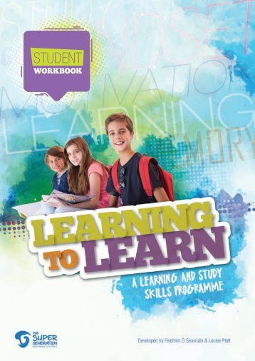 Learning to Learn -  Student Workbook - Chapter 1