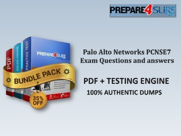 New PCNSE7 Test Questions Palo Alto Networks PCNSE7 Study Guide