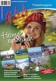 Reise-Special aus dem OhLàLà 2016 – Königssee – Einzigartig – der Nationalpark Berchtesgaden, traumhaft schön der Königssee