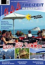 Reise-Special aus dem OhLàLà 2013 - Mecklenburg