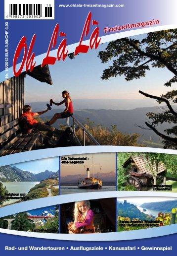 Reise-Special aus dem OhLàLà 2012 – Der Rheinsteig – die Königsetappe
