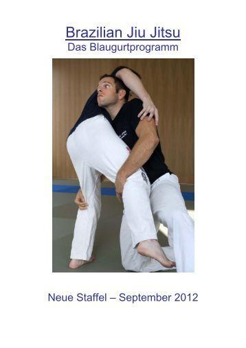 Brazilian Jiu Jitsu - Der Weg zum Blaugurt
