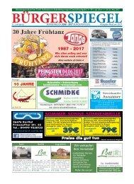 Mai 2017 | Bürgerspiegel
