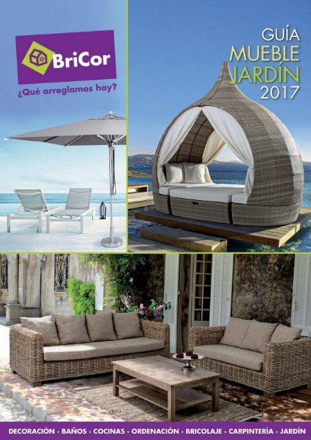 Bricor Guia Mueble Jardin hasta 31 de Agosto 2017