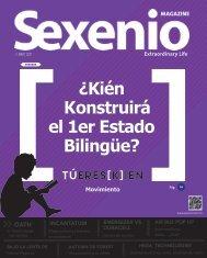 Sexenio Magazine Mayo
