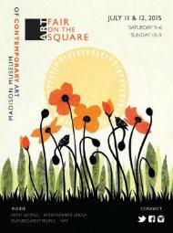 Art Fair on the Square 2015 program