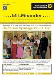 Mitgliederzeitung 2012_02 (pdf) - Raiffeisen