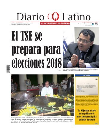 Edición 22 de Mayo de 2017
