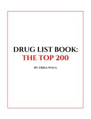 Drug List Book