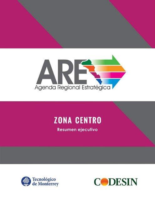 AGENDA REGIONAL ESTRATÉGICA ZONA CENTRO. EJECUTIVA.