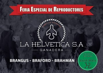 Catálogo La Helvética