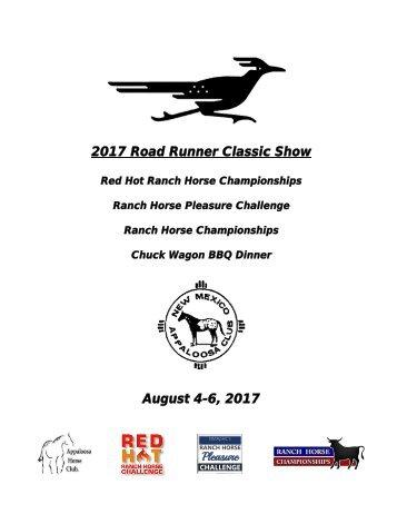 2017 Road Runner Classic Show Premium