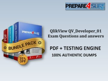 QV_Developer_01 Exam Dumps with Authentic QV_Developer_01 Exam Questions
