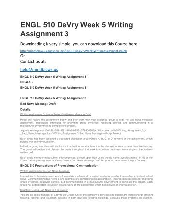 Hrm 594 course project