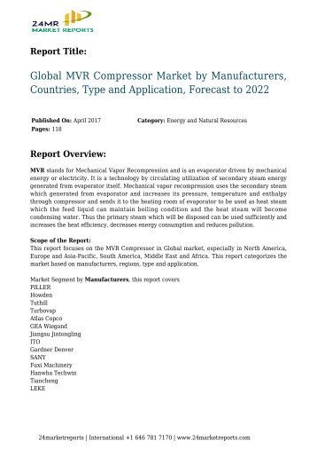 global-mvr-compressor-market-by-manufacturers-countries-type-and-application-forecast-to-2022-24marketreports