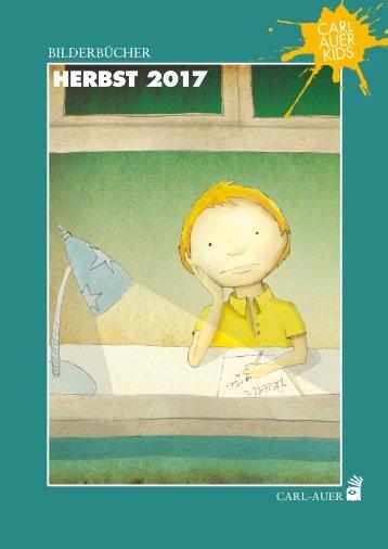 Neuerscheinungen Herbst 2017 |Carl-Auer Kids (Buchhandelsvorschau)