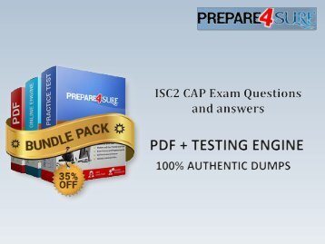 Prepare4sure CAP Braindumps - New CAP Questions and Answers  Download CAP Exam Instantly