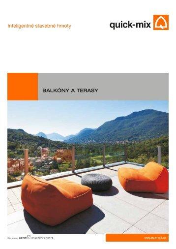 Balkóny a terasy - SK