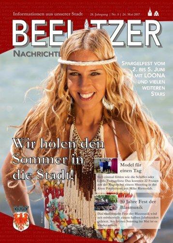Beelitzer Nachrichten Mai 2017