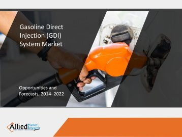 Gasoline Direct Injection (GDI) System
