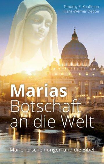 Marias Botschaft an die Welt