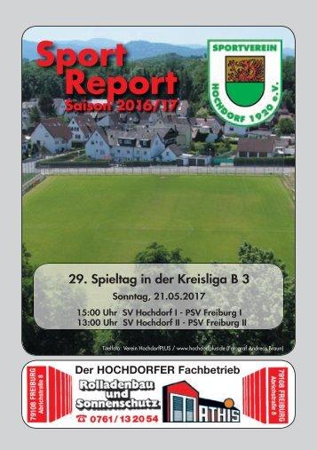 Sport Report - SV Hochdorf - Sonntag 21.05.2017