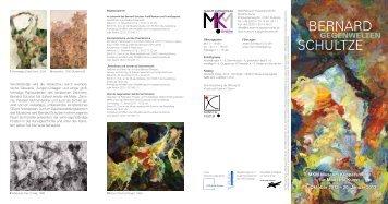BERNARD SCHULTZE - Stiftung für Kunst und Kultur eV