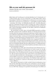 Wie es war und nie gewesen ist - Berner Zeitschrift für Geschichte