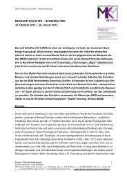 BERNARD SCHULTZE – GEGENWELTEN 19. Oktober 2012 – 20 ...