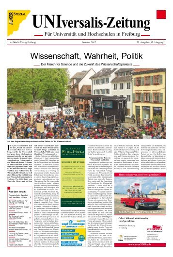 UNIversalis-Zeitung – Sommer 2017