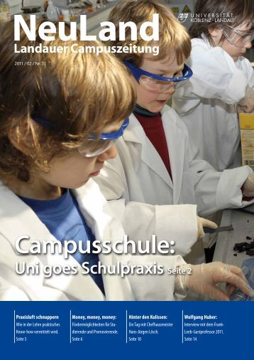 Ausgabe 2/2011 (PDF) - Universität Koblenz · Landau