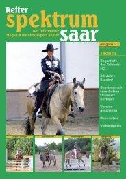 Reiter Spektrum Saar Ausgabe  3-2010