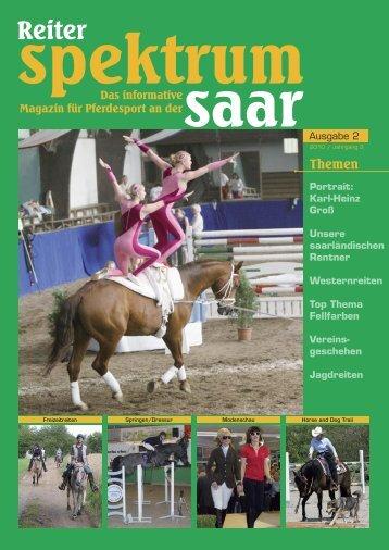 Reiter Spektrum Saar Ausgabe 2-2010