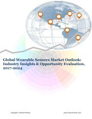 Global Wearable Sensors Market (2017-2024)- Research Nester