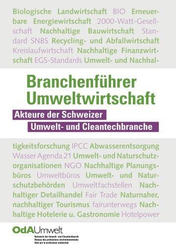 Branchenführer der Umweltwirtschaft 2017
