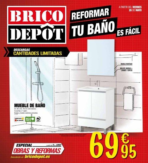 Bricodepot Reformar Tu Baño Es Facil