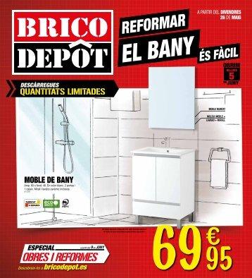 BricoDepot reformae el bany