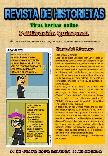 REVISTA DE HISTORIETAS NO 12