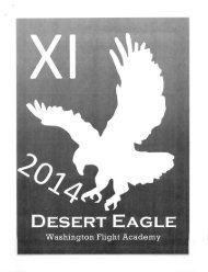 2014 Desert Eagle Flight Academy XI Annual